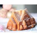 Molde Gingerbread House Bundt de Nordic Ware