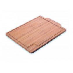 Tabla de corte de cocina 38 x 28 cm. de madera de bambú de Kuhn Rikon