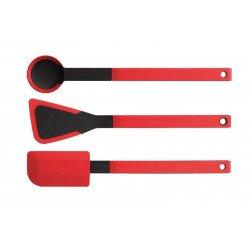 Pack de três utensílios em silicone Woll