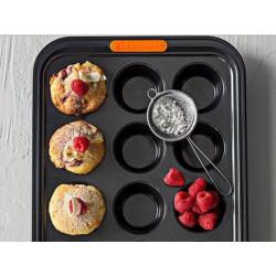 Molde antiadherente 12 cupcakes Le Creuset