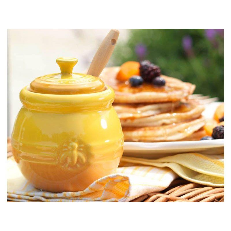 Bote para miel con espátula Le Creuset