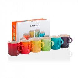 Set 6 tazas espresso Le Creuset