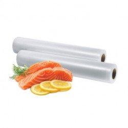 Set 2 rollos bolsas envasadora al vacío Foodsaver
