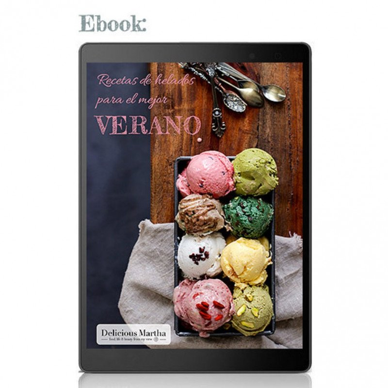 Ebook Helados DElicious Martha