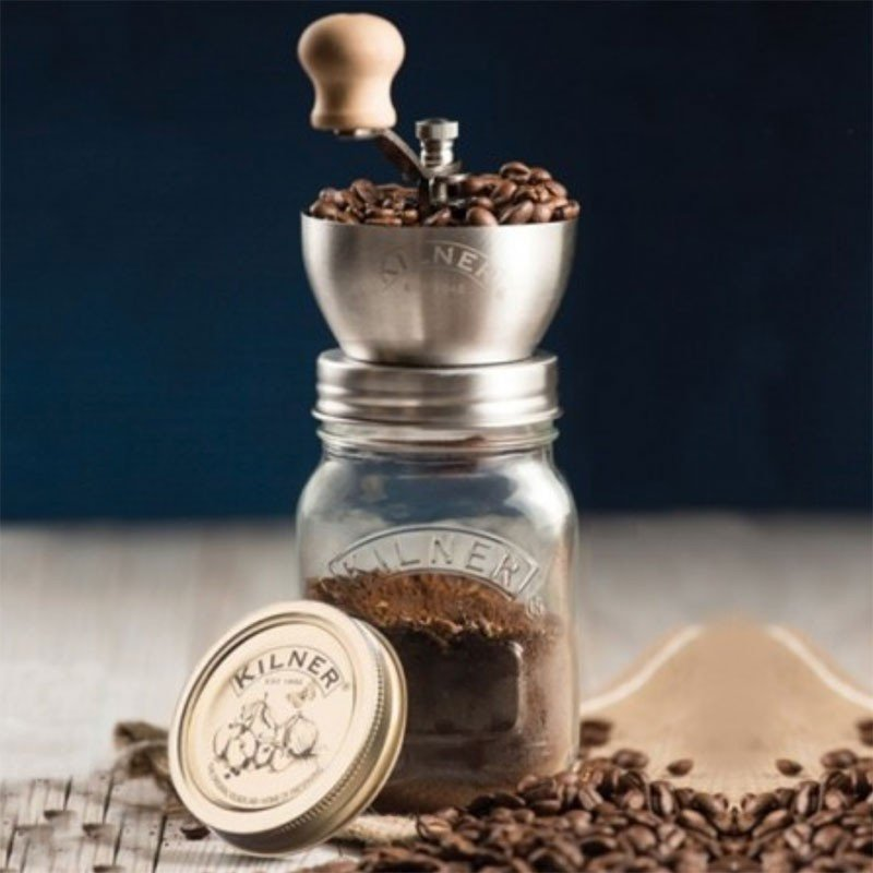 Molinillo de café manual Kilner