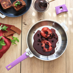 Cristel Casteline roestvrijstalen koekenpan