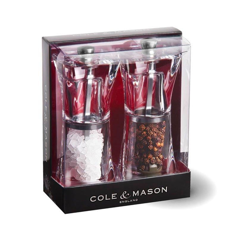 Set regalo molinillos sal y pimienta Cole & Mason