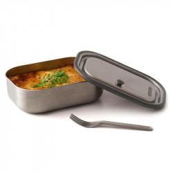 Espectacular lunch box fabricado en acero inoxidable Black + Blum