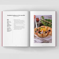 Detalle del libro 20 años saboreando juntos de Canal Cocina
