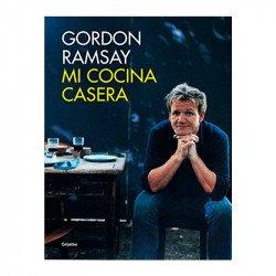 Portada del libro mi cocina casera de Gordon Ramsay
