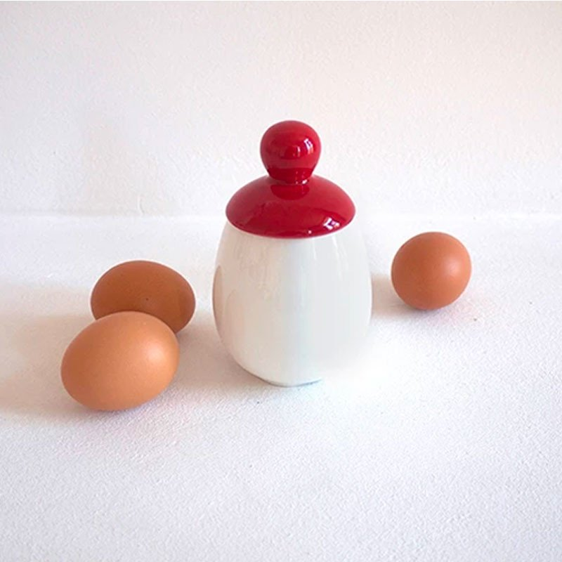 Escalfador de huevos porcelana ÄGGCØDDLER
