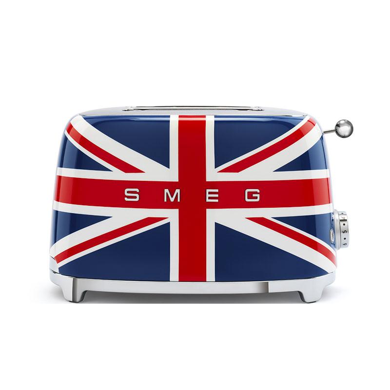 Torradeira duas fatias bandeira inglesa SMEG