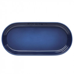 Travessa Oval cor Azul Ink