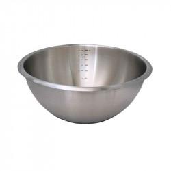 Taça redonda INOX para pastelaria com base de silicone de Buyer