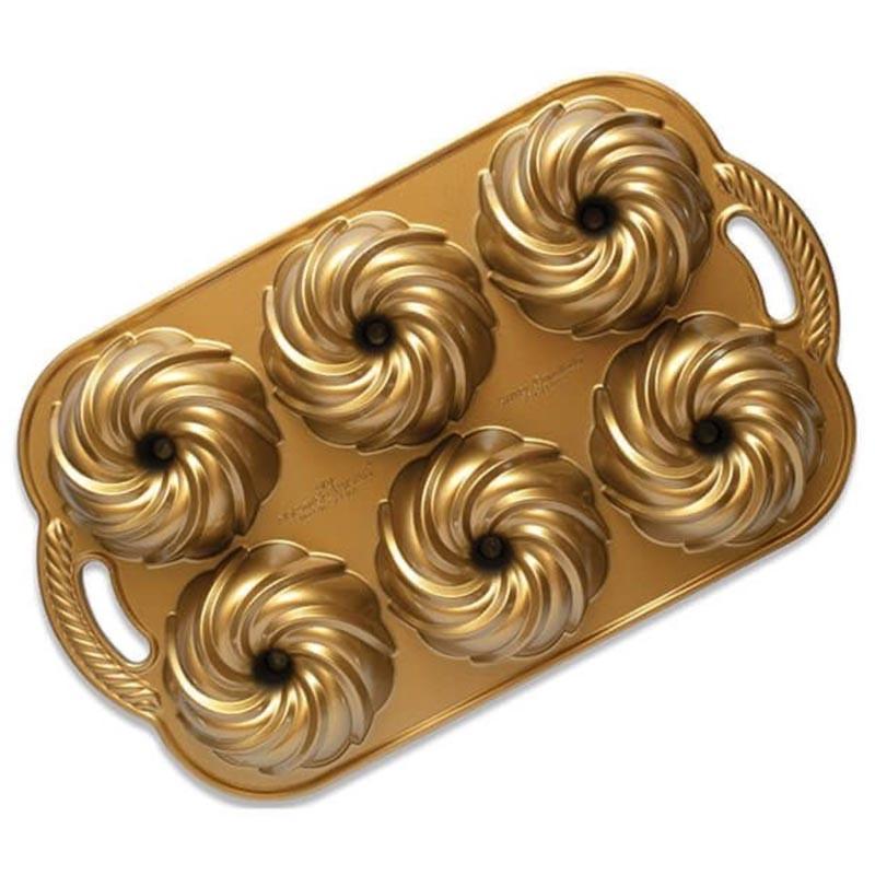 Swirl bundtlette Nordic Ware