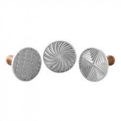 Estampadores geométricos para Galletas de Nordic Ware