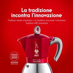 Italiaans koffiezetapparaat NIEUW MOKA inductie Bialetti