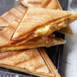 Breville broodrooster tosti-ijzer met afneembare platen
