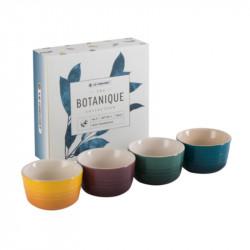 Set 4 mini ramekines Botanique Le Creuset
